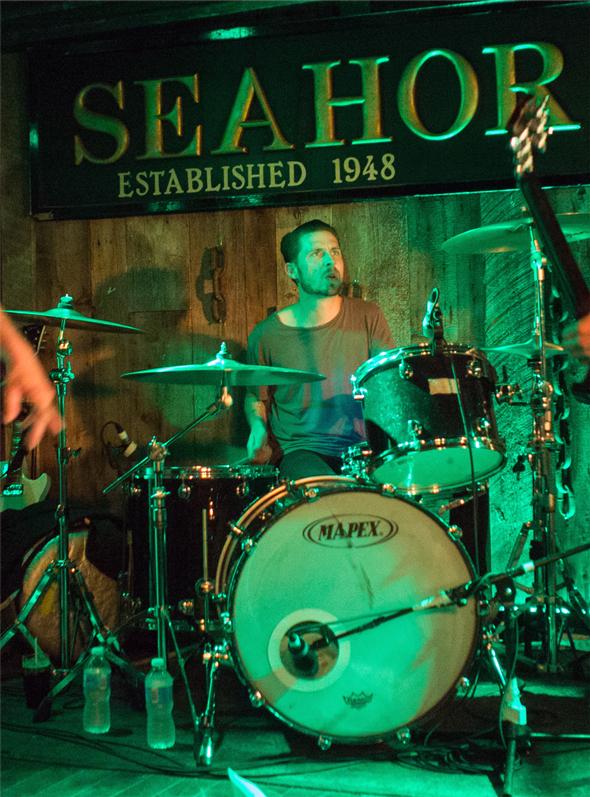 Jay Braslin - drums