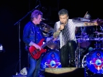 Ross Valory and Arnel Pineda